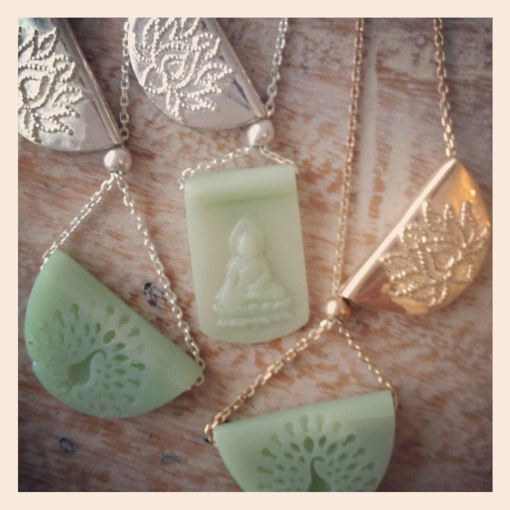 Jade Buddha pendant necklace's from 'By Charlotte' available @ www. Bycharlotte.com.au