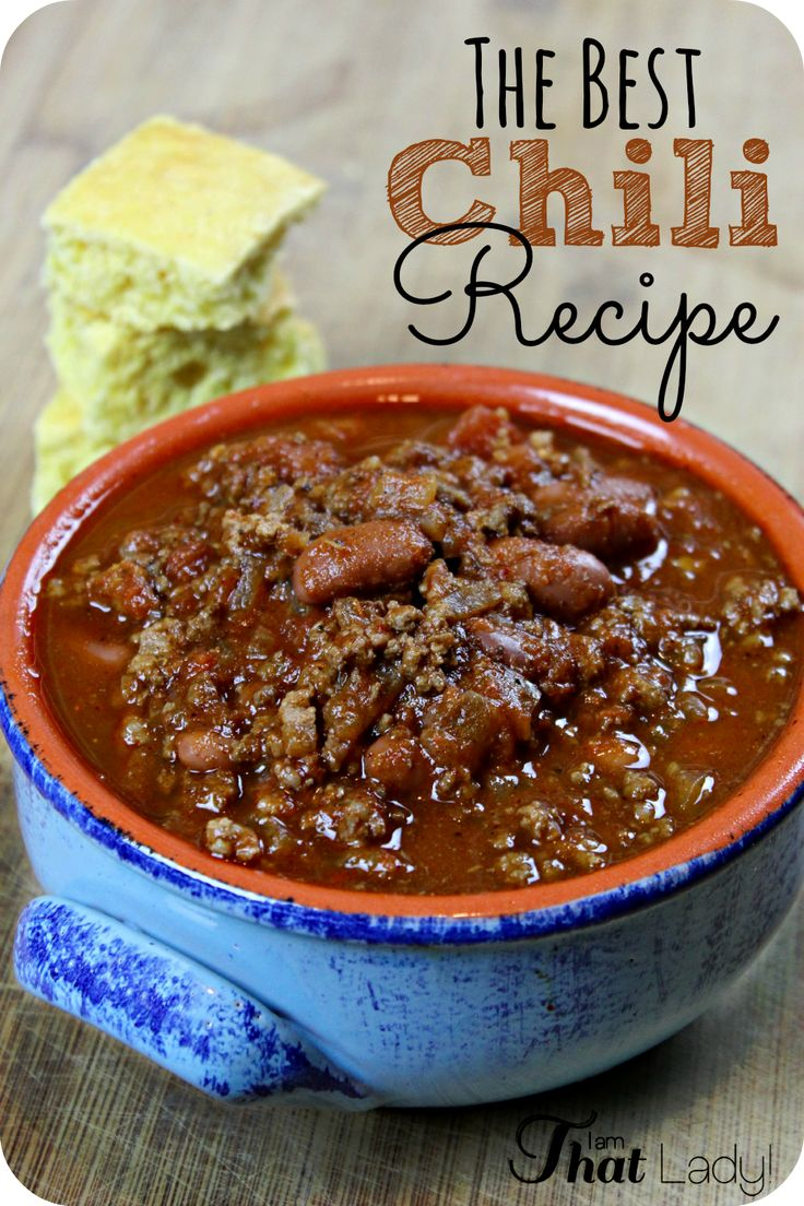 Are you looking for an easy recipe for chili? Here is the BEST EVER Chili Recipe - it is SO easy too! Here are my tips for making sure the meat tastes amazing and how to make it!
