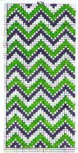 Chevron Cross Stitch Case Iphone 4 Pattern