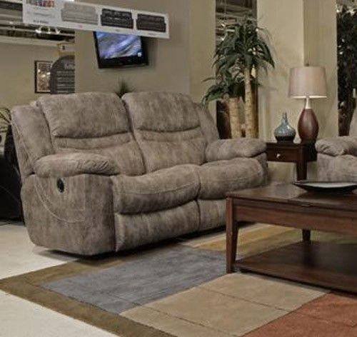 Catnapper - Valiant Rocking Reclining Loveseat in Marble - 1402-2-MARBLE