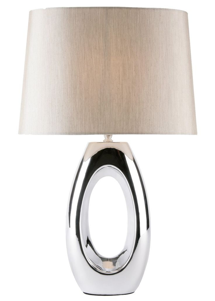 Brogan Table Lamp Chrome   PAGAZZI Lighting