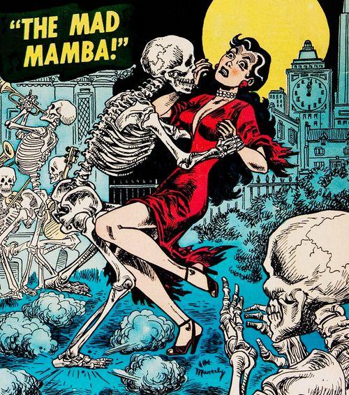 vintagegal:  Adventures Into Weird Worlds #25 (1954)