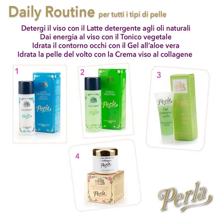 Quattro prodotti della linea classica di Perla per avere una pelle sana e luminosa...sempre al top!