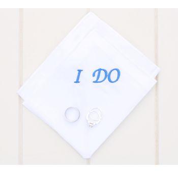 Wedding Hankerchief - I Do http://www.stylishweddings.com.au/wedding-handkerchief-i-do