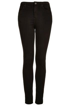 MOTO Black Rinse Jamie Jeans - Jamie Skinny Jeans - Jeans - Clothing