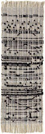Anni Albers - Haiku, 1961 cotton, hemp, metallic thread, wool 221⁄2 × 71⁄4 in. (57.2 × 18.4 cm) 1994.12.6