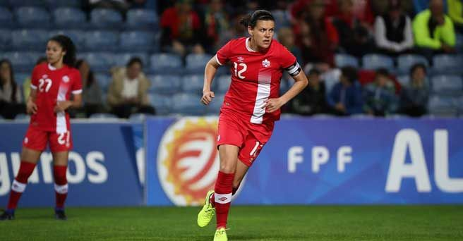 Christine Sinclair - Algarve Cup 2017 Final Preview: Canada faces Spain for first time in history of women's football