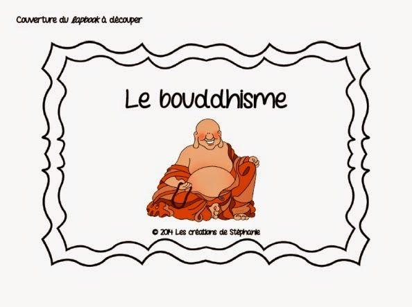 Les créations de Stéphanie: Lapbook : Le bouddhisme