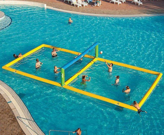 (2) Fancy - Water Volleyball Court