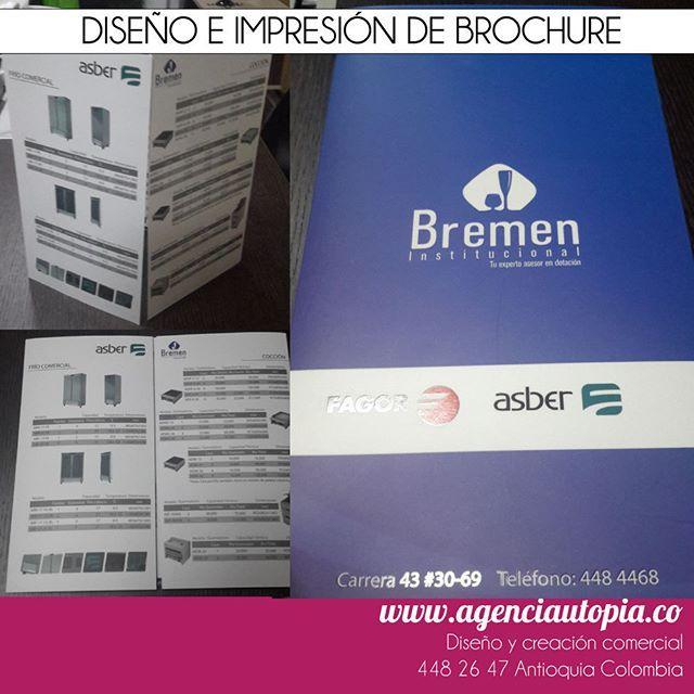 BROCHURE - Brochure diseñado con las últimas tendencias del branding corporativo.
