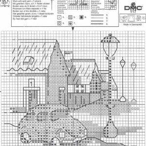 Схема вышивки История красной машинки 5 из 6