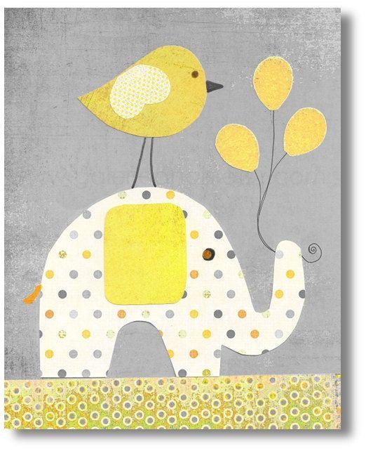 Elefante #grey #yelow