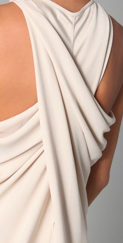 Maria Grachvogel Egrit Long Dress - love this back!