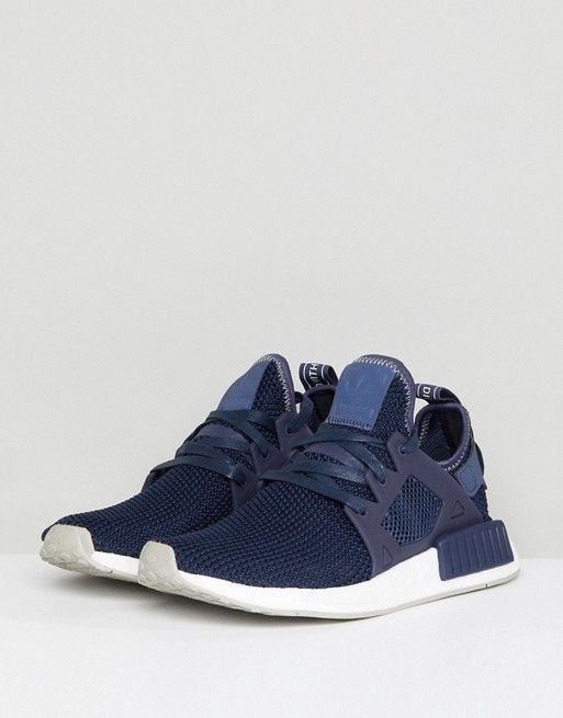 Casual Blue Adidas Nmd Unisex Deep Shoes 2017 Fashionable