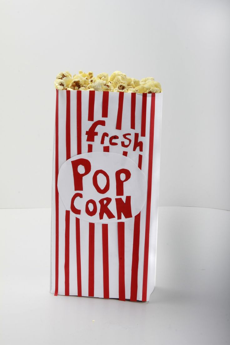 How to Make a Classic Popcorn Box