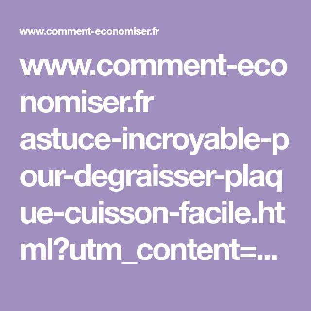 www.comment-economiser.fr astuce-incroyable-pour-degraisser-plaque-cuisson-facile.html?utm_content=buffer92609&utm_medium=social&utm_source=pinterest.com&utm_campaign=buffer