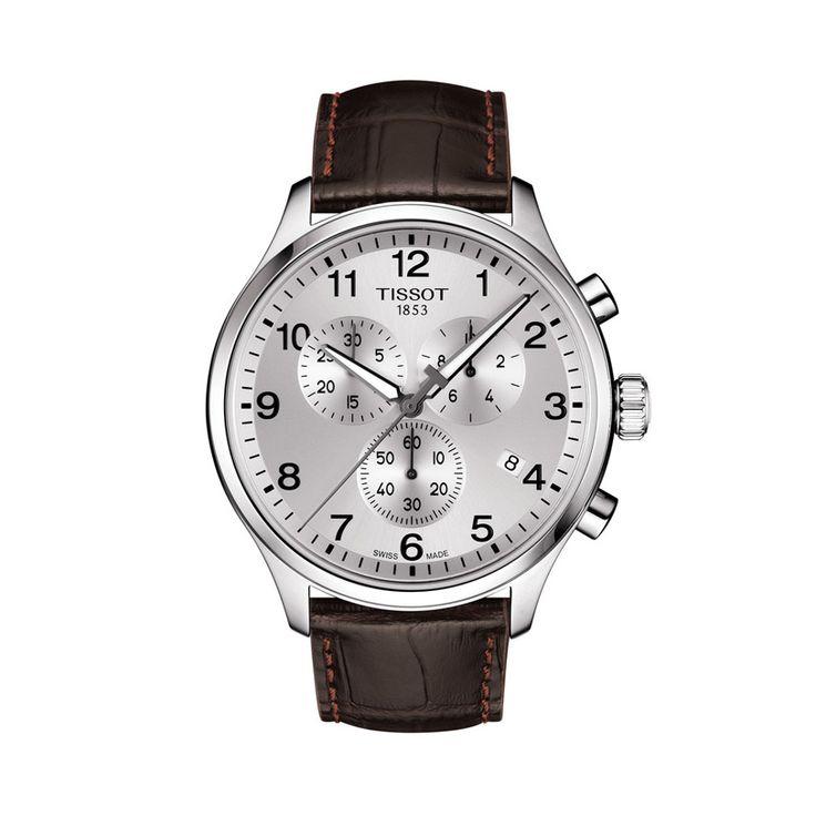 Ανδρικό ελβετικό quartz ρολόι του οίκου TISSOT, από τη συλλογή T-SPORT, μοντέλο CHRONO XL CLASSIC T116.617.16.037.00 Ένα σπορ ρολόι ασημί χρονογράφος με ημερομηνία & λουρί. Ανδρικό ρολόι TISSOT CHRONO XL CLASSIC T1166171603700 με λουρί, χρονογράφος με ασημί καντράν | Ρολόγια TISSOT στο Χαλάνδρι ΤΣΑΛΔΑΡΗΣ #tissot #chronoxlclassic