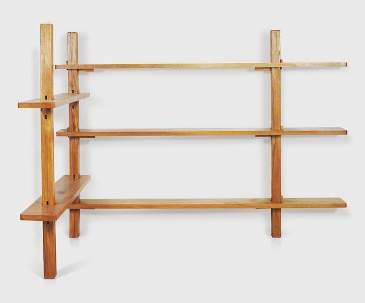 Pierre Chapo. Bookcase