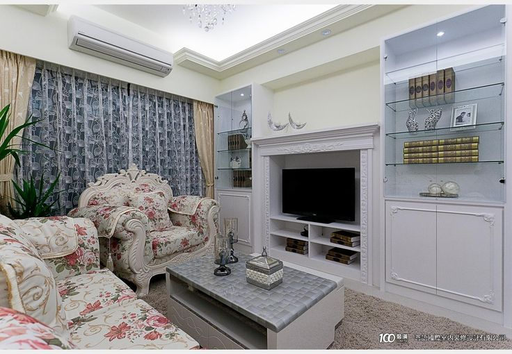 富堡晶樺_新古典風設計個案—100裝潢網