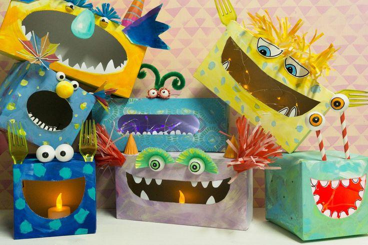 Gruuuuuselig? Nein, die Schachteln im Monster-Look sind ein echter Hingucker fürs Kinderzimmer. Profissimo kreativ erklärt Ihnen Schritt…