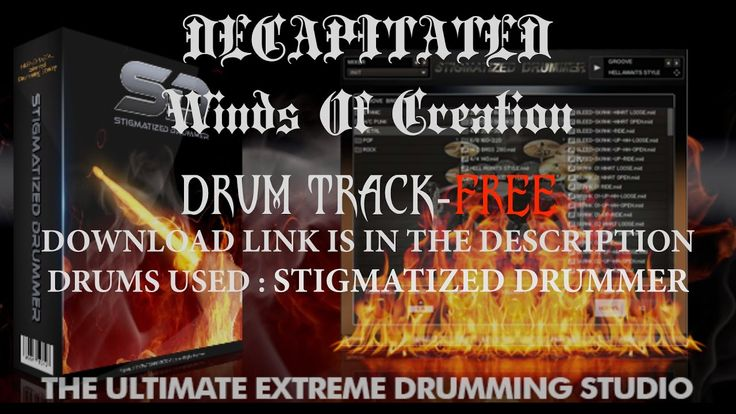 Death Metal Drum Track/Decapitated Winds Of Creation/Stigmatized Drummer