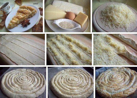 Слоёный пирог-улитка - готовится просто, вкус изумительный! - rastimul.com.ua
