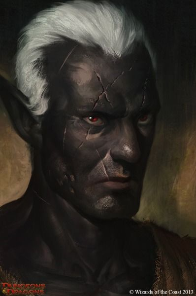 43 best Portraits: Drow images on Pinterest | Character ...