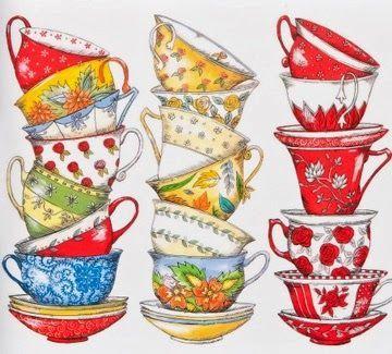 Susan Branch Tea Cups ♥