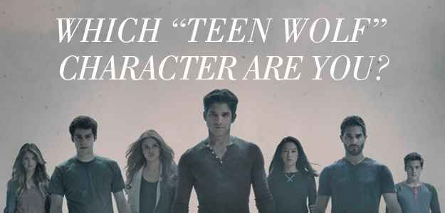 """Which """"Teen Wolf"""" Character Are You. I got Lydia, no surprise there. ;)"""