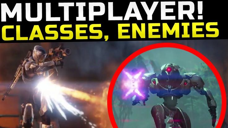 Destiny News - Multiplayer Info, Enemies, Classes, & Much More!! - January 11, 2014