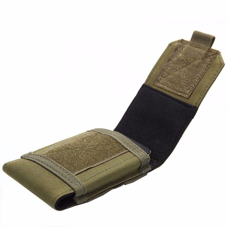 Phone Tactical Holster Pouch Bag Waist Molle Belt Case Military Outdoor Purse #PhoneTactical #BeltBag