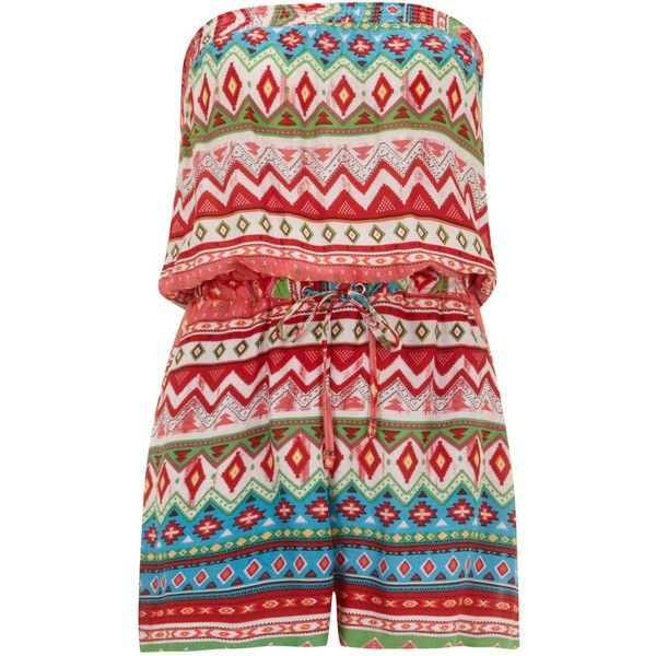 Dorothy Perkins Petals Multi Coloured Print Playsuit (85 BRL) ❤ liked on Polyvore featuring jumpsuits, rompers, dresses, playsuit, jumpsuit, multi colour, playsuit jumpsuit, colorful jumpsuit, playsuit romper and romper jumpsuit