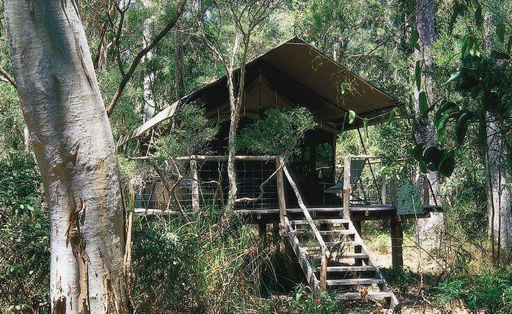 Paperbark Camp Original Safari Tent. Luxury camping.