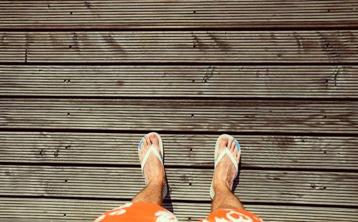 7 Designer Flip-flops to Impress Your Friends at the Beach (Men)