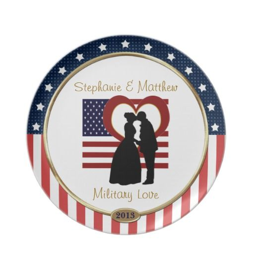 Wedding Gifts For Army Couples : ... couples names and year. Great gift for a military couple, wedding or