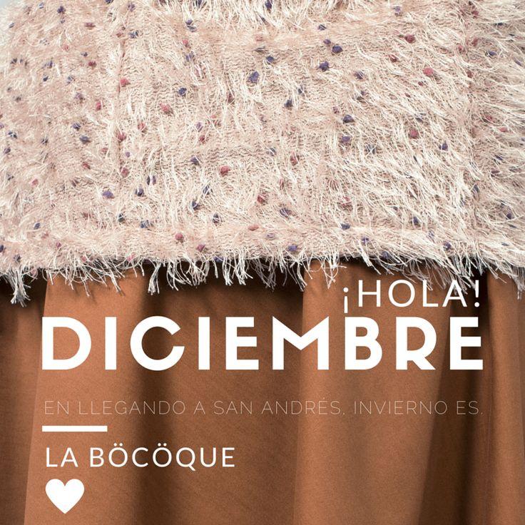 En llegando a San Andrés, invierno es. #refrán #cita #invierno #Hola #Diciembre. #Winter is coming. #Bienvenido #Diciembre. #Hello #December. #Welcome #December. #LaBöcöque