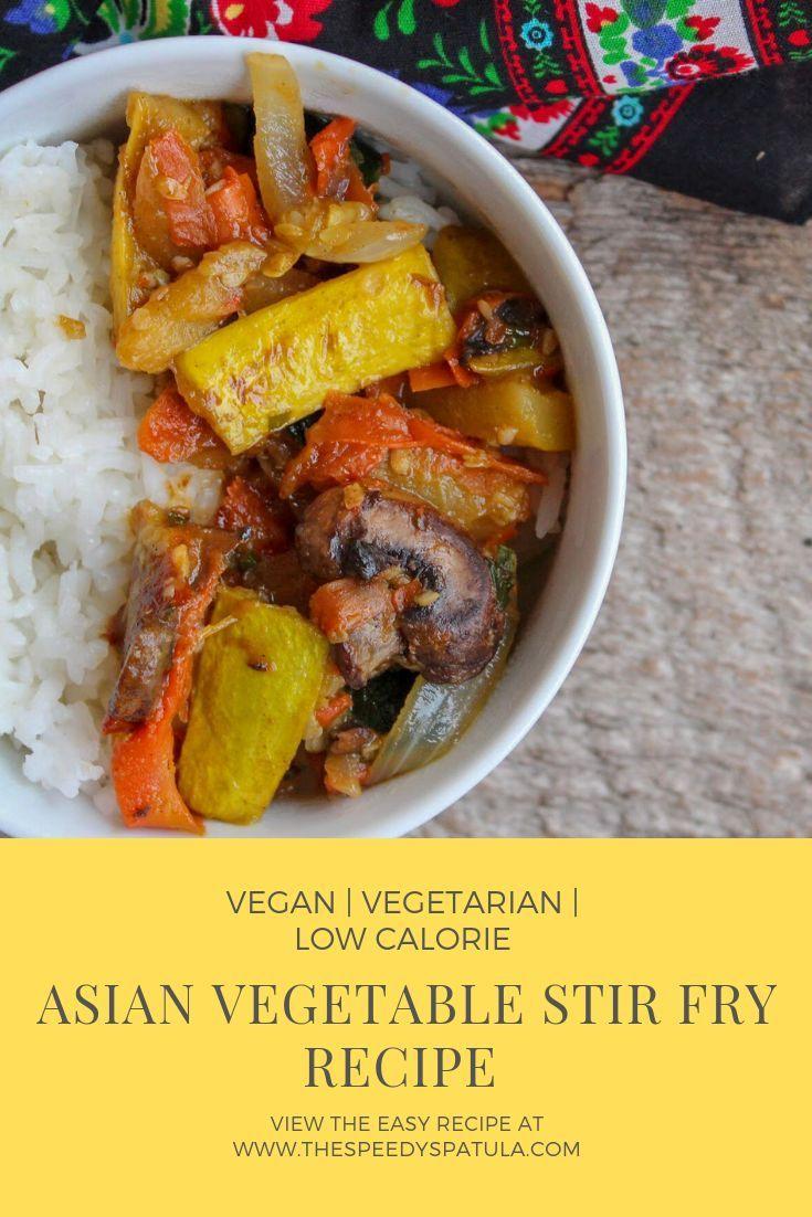 Asian Vegetable Stir Fry Recipe Food Recipes Asian Vegetables