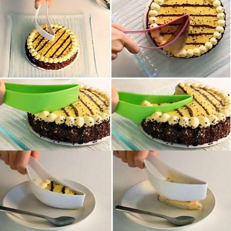 Выпечки поставки резак нож шпатель для кухни лезвие торт гаджеты Coltello Spatola купить на AliExpress