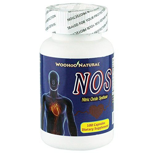 WooHoo Natural Nitric Oxide Synthase NOS 100 Capsules