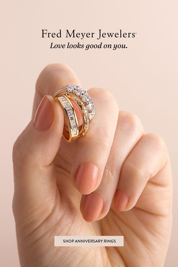 Here Is To A Life In Love Shop Anniversary Rings