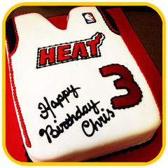 The Heat Jersey Cake