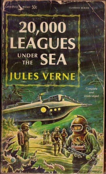 _20,000 Leagues Under the Sea_, Airmont Classics 1963 #nautilus