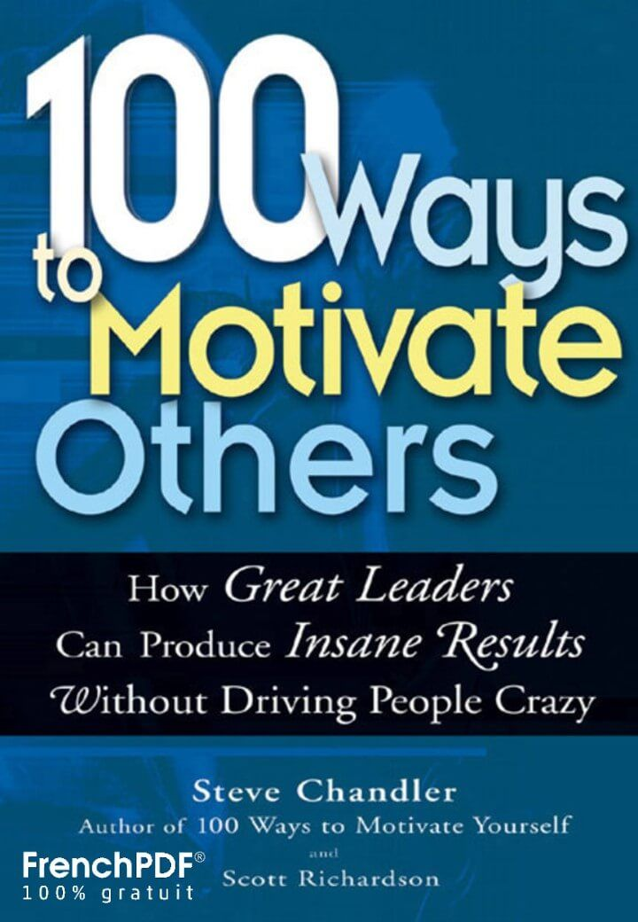 100 Ways To Motivate Others Pdf Online Book For Download