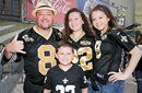 Champions Square Mercedes-Benz Superdome entertainment for Saints-Panthers game Sunday