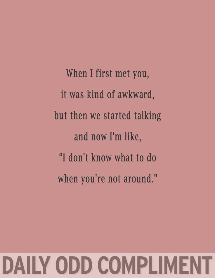 When Quotes Met I First You