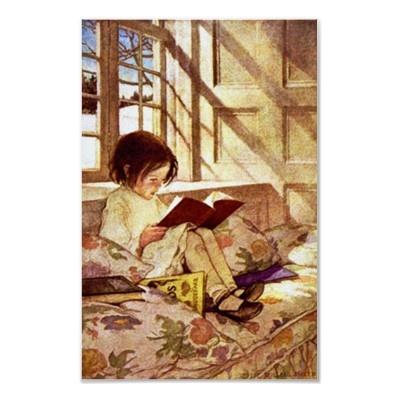 Jesse Wilcox Smith ~Picture Books in Winter