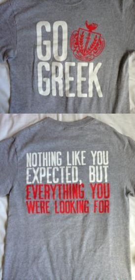 Great Panhellenic shirt!