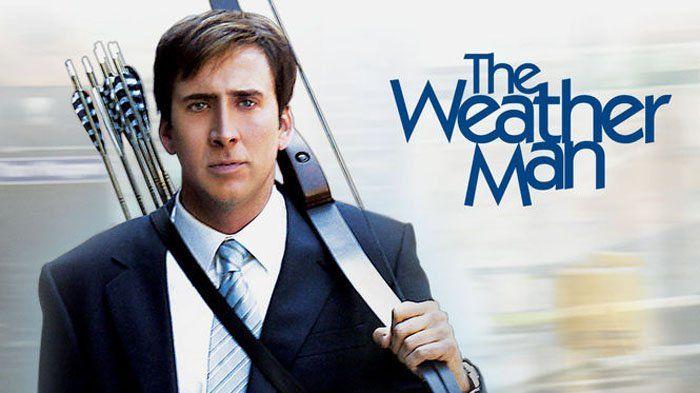 Sinopsis Film The Weather Man - Nicolas Cage, Peramal Cuaca yang Selalu Kena Sial, Sore Ini di HBO