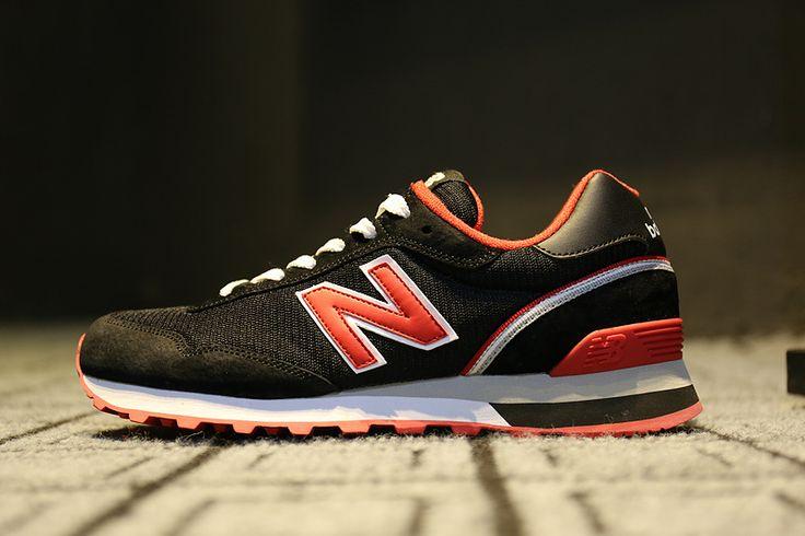 New Balance 515 Women's Black Red Running Shoes NB515 BDP