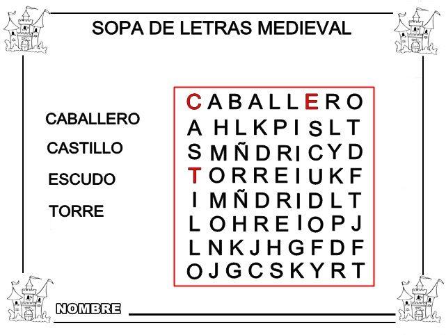 SOPA+DE+LETRAS+MEDIEVAL.JPG (641×482)